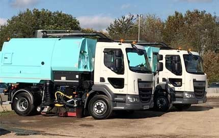 We now have 18 Johnston raod sweepers in our fleet